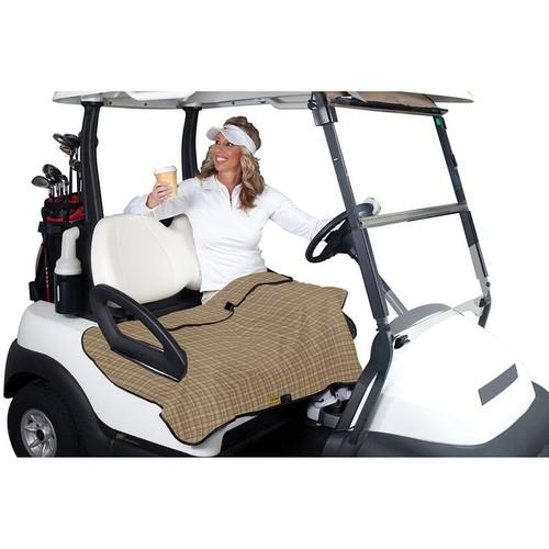 Classic Accessories Golf Cart Seat Blanket Plaid - 40-015-013701-00