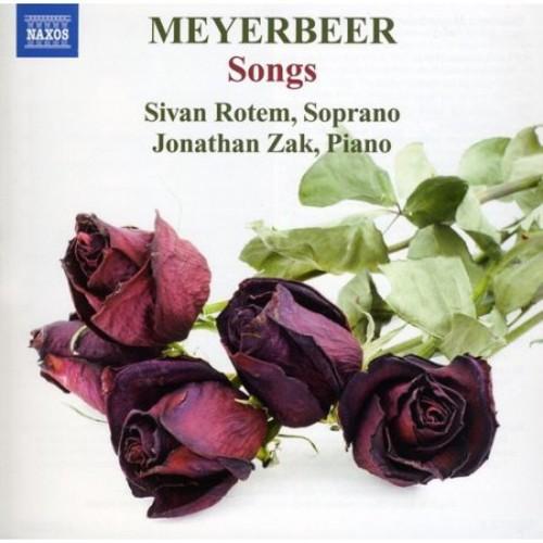 Meyerbeer: Songs [CD]