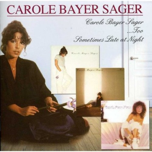 Carole Bayer Sager/...Too/Sometimes Late at Night [CD]