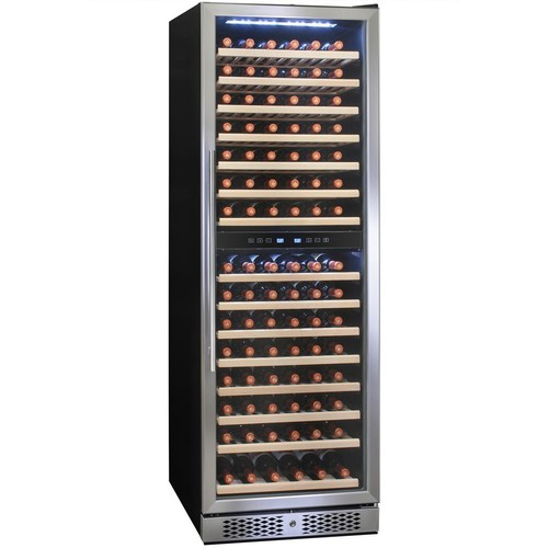 AKDY 23.5 in. 160 Bottle Built-in Compressor Wine Cooler