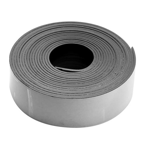 Craft And Hobby Peel And Stick Rubber Magnetic Tape 1 Inch Wide (10 Foot Roll)
