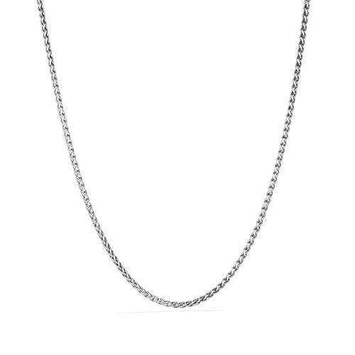 Extra Small Wheat Chain Necklace, 72
