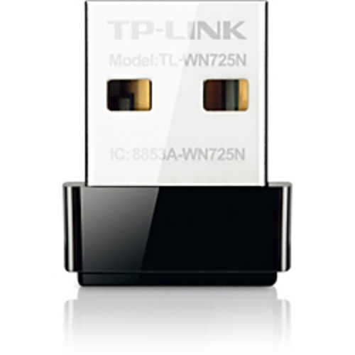TP-Link N150 Wireless Wi-Fi Nano USB Adapter, TL-WN725N