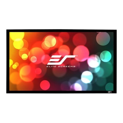 Elite SableFrame ER100DH3 - Projection screen - 100 in (100 in) - 16:9 - CineGrey 5D - velvet black