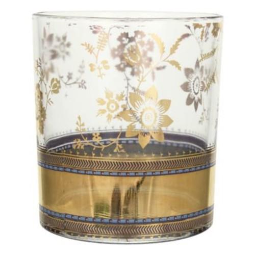 Patina Vie Patina Vie Metallic Lace Cocktail Glass (Set of 8)