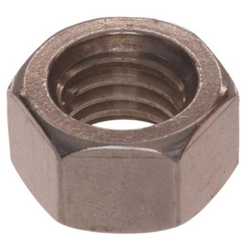 The Hillman Group 7/8 in. x 9 in. Stainless-Steel Hex Nut (3-Pack)