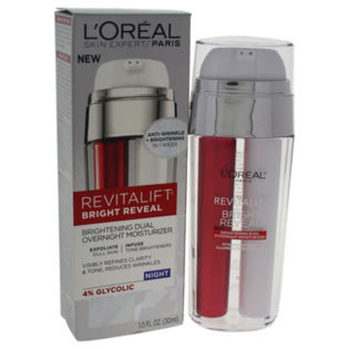 L'Oreal Revitalift Bright Reveal Brightening Dual Overnight Moisturizer