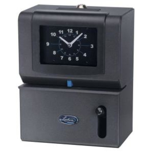 hem State of Art Employee Time Stamp with Analog Time Clock