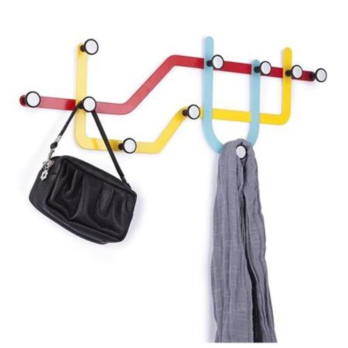Umbra Subway Multi Hook, Multicolored