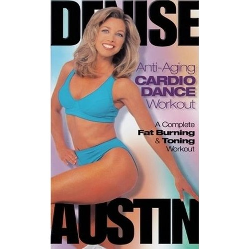 Denise Austin: Anti-Aging Cardio Dance Workout [DVD] [1998]
