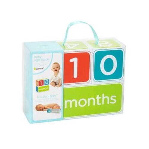 Pearhead Baby Age Photo Blocks - Neutral, Neutral