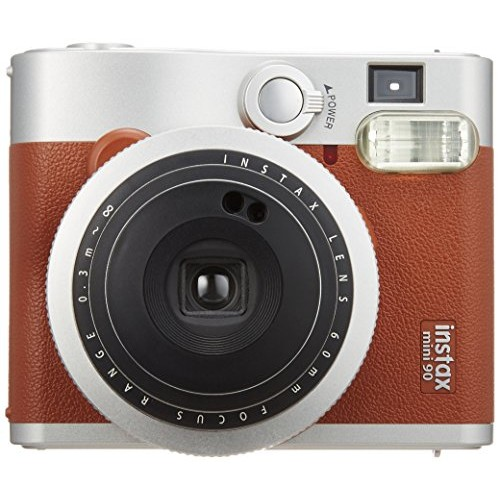 Fujifilm Mini 90 Neo Classic (Brown) Instax instant film camera