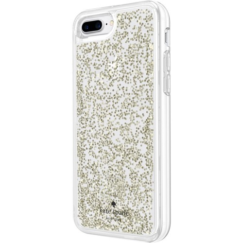 kate spade new york - Case for Apple iPhone 7 Plus - Glitter clear
