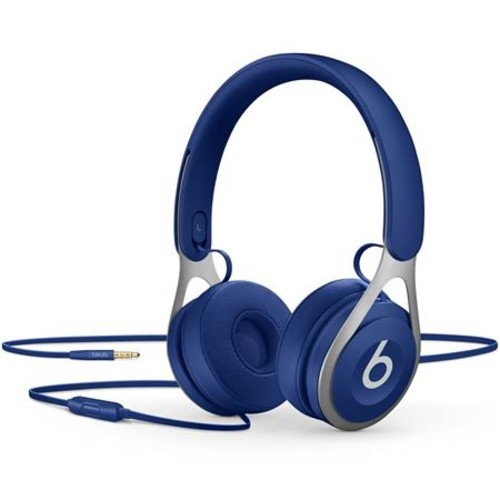 Beats by Dr. Dre EP, On-Ear Headphones, Blue - with Remote and Mic