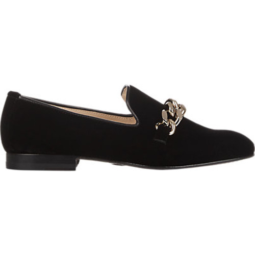 Chain-Embellished Loafers