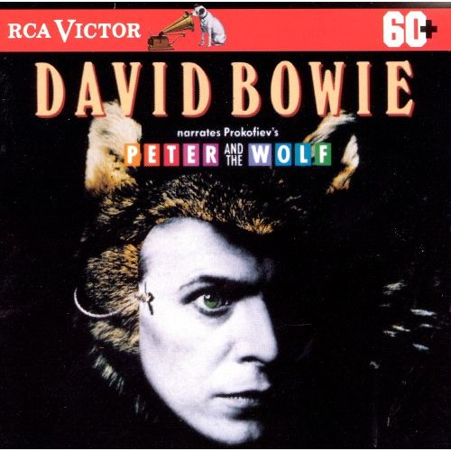 David Bowie Narrates Prokofiev's Peter and the Wolf [CD]