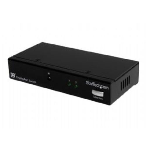 VS221DP Startech new 2 port displayport video switch with audio & ir