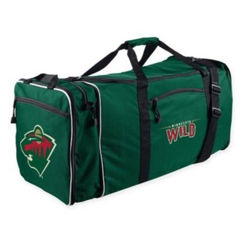 NHL Minnesota Wild 28-Inch Duffel Bag