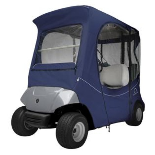 Classic Accessories Fairway FadeSafe Yamaha The Drive Golf Cart Enclosure-Navy