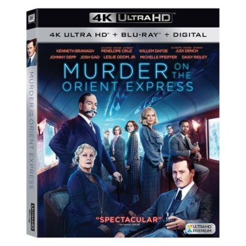 Murder on the Orient Express (4K/UHD + Blu-ray + Digital)