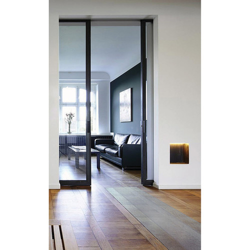 Floortex Long & Strong Hall Runner | for Hard Floors | Clear PVC Floor Protector Roll Mat | Size 36