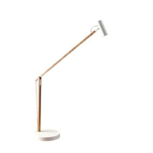 Adesso 33in Natural Crane LED Desk Lamp