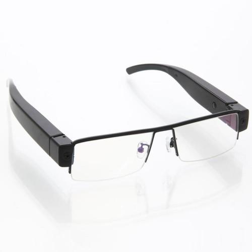 16GB 1920 x 1080 HD Spy Glasses Eyewear Hidden Camera Black