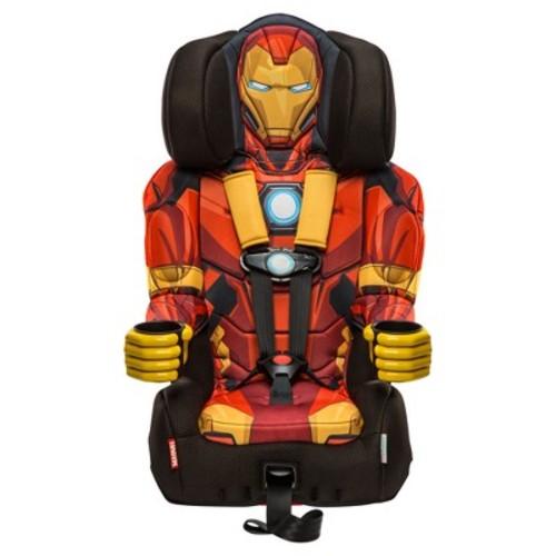 KidsEmbrace Marvel Avengers Iron Man Combination Harness Booster Car Seat