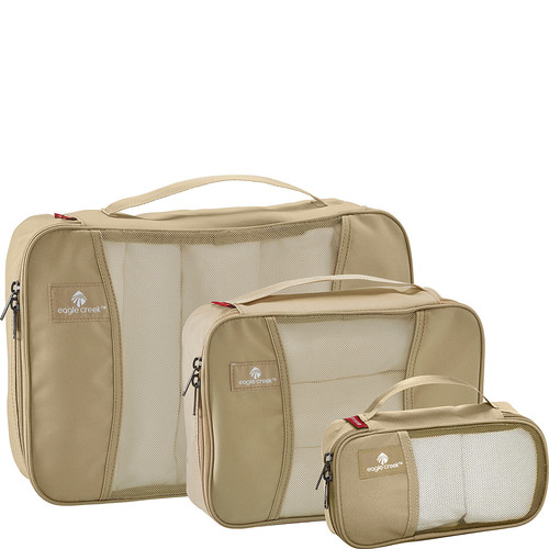 Eagle Creek Pack-It Original Half Cube (s) -3pc Set, Tan