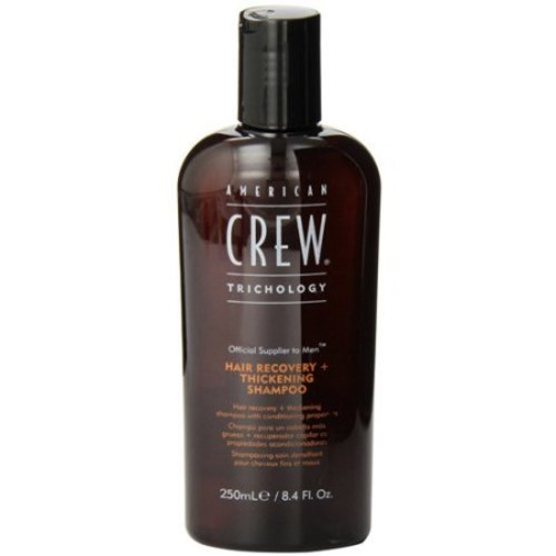 American Crew Trichology Hair Recovery + Thickening Shampoo, 8.4 Oz