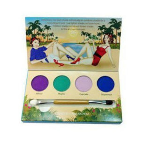 Honeybee Gardens, Eye Shadow Palette, Party Girl, 4 Shadows, 0.045 oz (1.3 g) Each