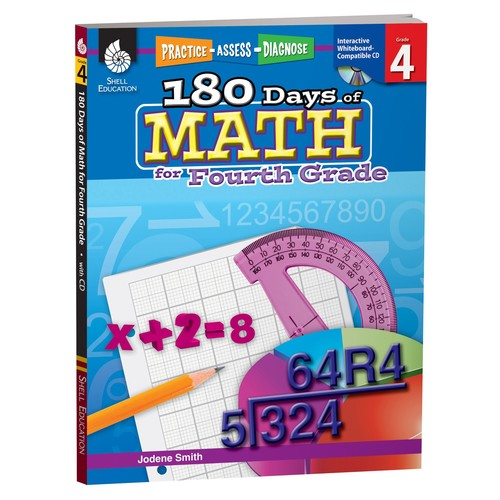 180 Days of Math for Fourth Grade (180 Days of Practice)