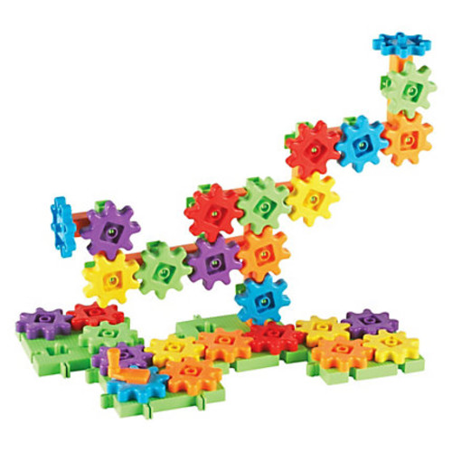 Gears!Gears!Gears! Gears 60-piece Starter Building Set - Theme/Subject: Fun - Skill Learning: Building, Imagination, Construction, Discovery, Critical Thinking, Problem Solving, Creativity, Cause & Effect, Eye-hand Coordination - 60 Pieces