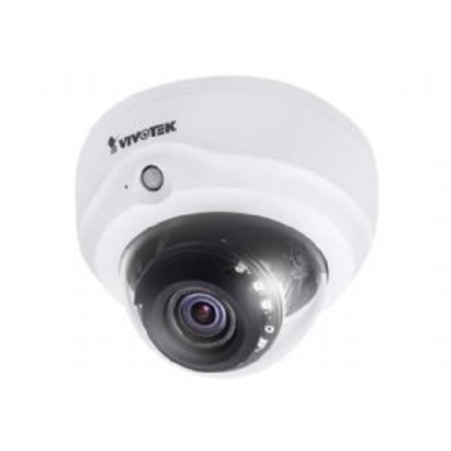 Vivotek FD816B-HT - Network surveillance camera - dome - color (Day&Night) - 2 MP - 1920 x 1080 - 1080p - vari-focal - audio - LAN 10/100 - MJPEG, H.264 - DC 12 V / PoE