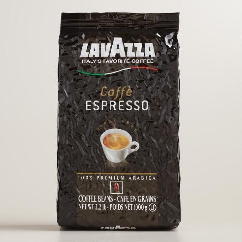 Lavazza Caffe Espresso Whole Bean Coffee