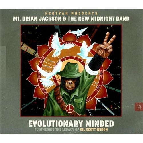 Kentyah Presents Evolutionary Minded: Furthering the Legacy of Gil Scott-Heron [CD]
