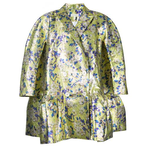 DELPOZO Floral Loose-Fit Jacket