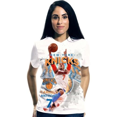 Levelwear Women's New York Knicks Carmelo Anthony Center Court T-Shirt