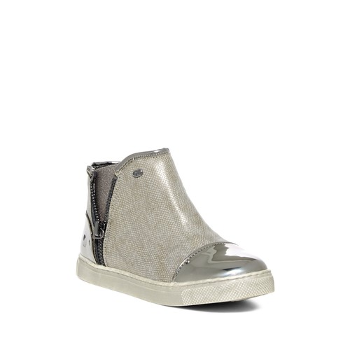 Celia Metallic Embossed Boot (Toddler & Little Kid)