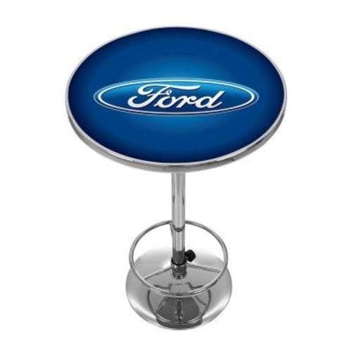 Trademark Oval Chrome Pub/Bar Table