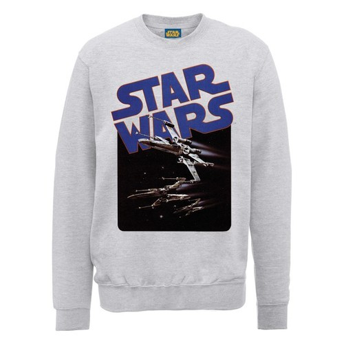 Star Wars X-Wing Fighters Sweatshirt - Heather Grey