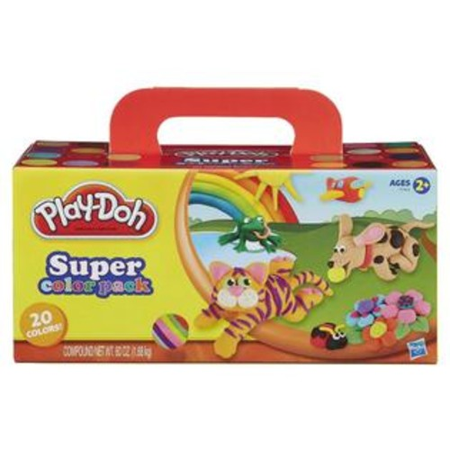 Hasbro,Play Play-Doh Super Color Pack