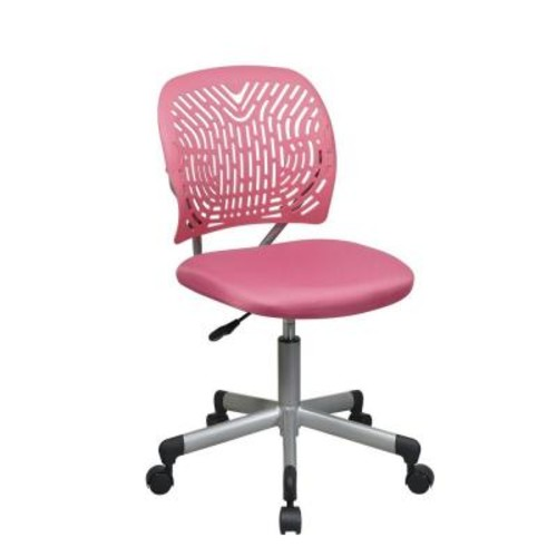 Office Star Products 166006-355 SpaceFlex Hot Pink Task Chair