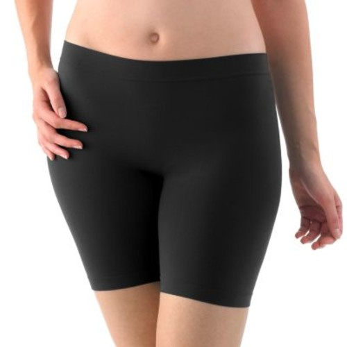Jockey Skimmies Mid-Thigh Slip Shorts 2109: Clothing [Black, Large]