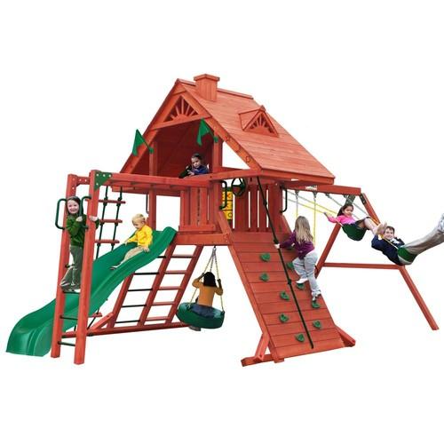 Gorilla Playsets Sun Palace II Cedar Swing Set
