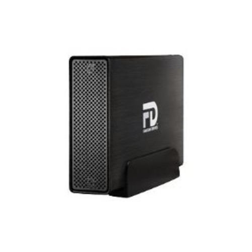 Fantom Drives Gforce3 Pro - Hard drive - 5 TB - external (desktop) - USB 3.0 - 7200 rpm - brushed black