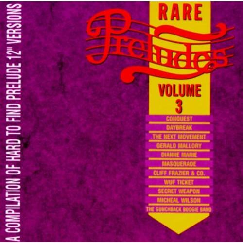 Rare Preludes, Vol. 3 [CD]