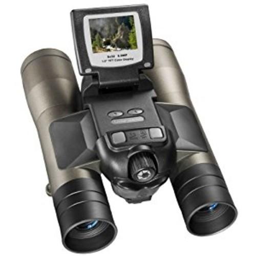 BARSKA 8x32 Binocular & Built-In 8.0 MP Digital Camera [Mid Size Binoculars]