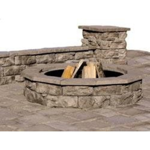 Cabot - Fire Pits Brown Fossill Stone