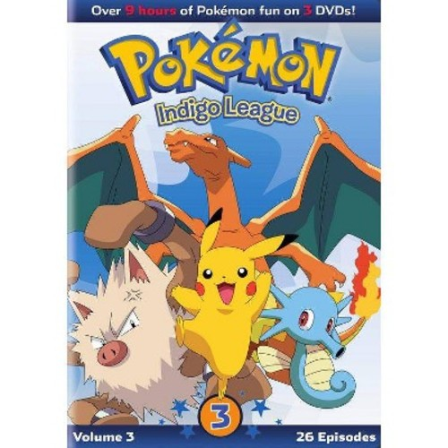 Pokemon Season 1: Indigo League: Set 3 (DVD)